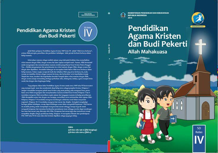 Download Gratis Buku Siswa Pendidikan Agama Kristen dan Budi Pekerti Kelas 4 SD Kurikulum 2013 Format PDF