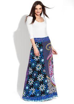I love this Desigual skirt from Ideeli