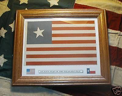 Texas Revolution....First Lone Star Navy Flag of Texas