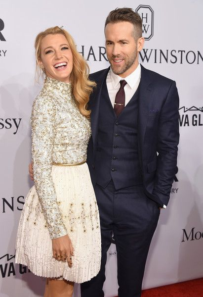 Blake Lively and Ryan Reynolds - 2016 amfAR New York Gala