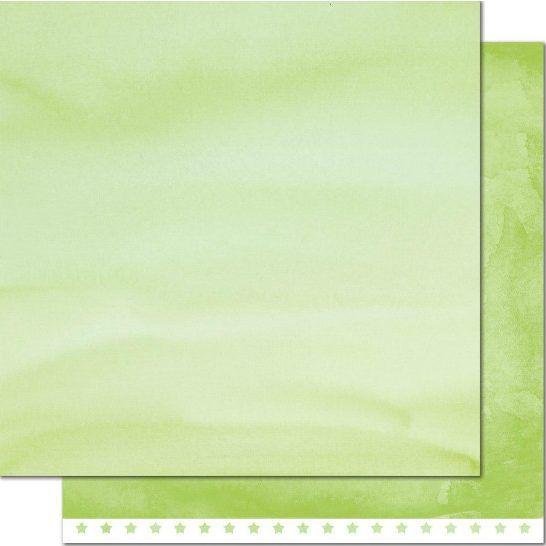 Papel Four – Leaf Clover – Watercolor Wishes 30×30  Descripción:  Cartulina impresa a doble cara de 30 x 30 cm, de un mismo color en dos tonos diferentes tipo acuarela en color verde,  ideal para tus creaciones de scrapbook y manualidades.
