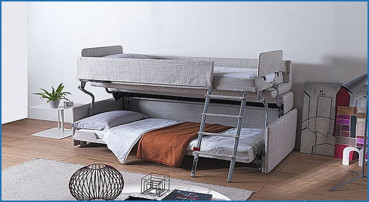 Luxury Resource Furniture sofa Bunk Bed   Couch bunk beds ...