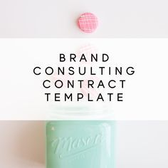 Brand or Social Media Consulting Contract Template
