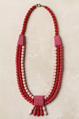 Funky fabric necklace