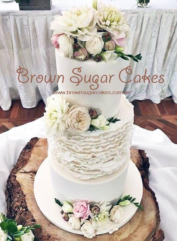 #wedding cakes #brownsugarcakes
