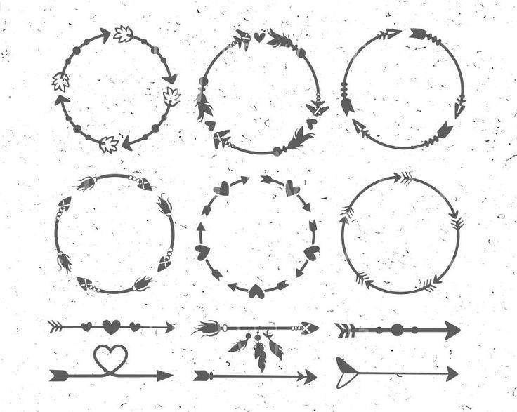 Arrow Circles svg Circles arrow svg Arrow Monogram svg Circle svg Arrow frames svg Arrow monogram frames Arrow svg clipart Heart svg boho by EnjoySVG on Etsy https://www.etsy.com/listing/496646476/arrow-circles-svg-circles-arrow-svg