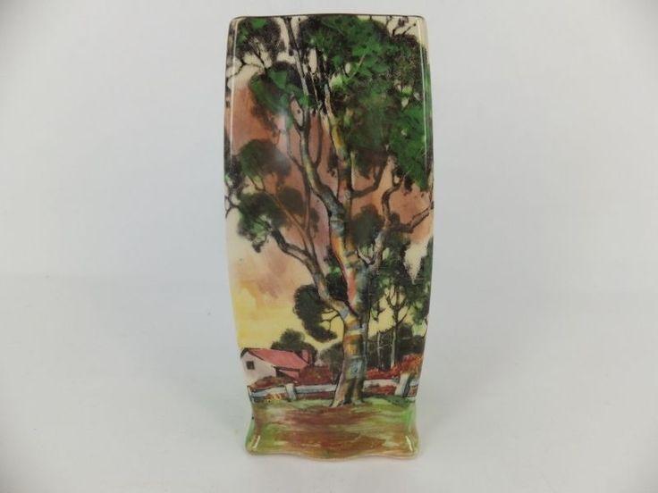 Royal Doulton Gum Trees series vase D5506- 11cm (4.5 ; ) tall - pristine in Pottery, Glass, Pottery, Porcelain, Royal Doulton | eBay