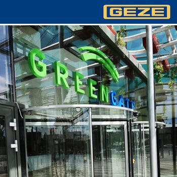 Geze - premium doors - Green Gate