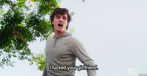 "He's kind of a badass. | 25 Reasons You're Team Matty On ""Awkward."""