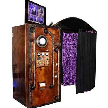 Our Victorian Steampunk Photo Booth