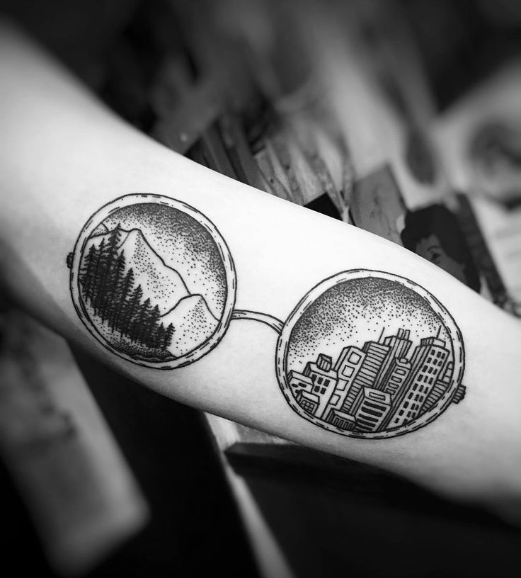 Charlotte Lee | Blackworks | Nature | City | Tattoo