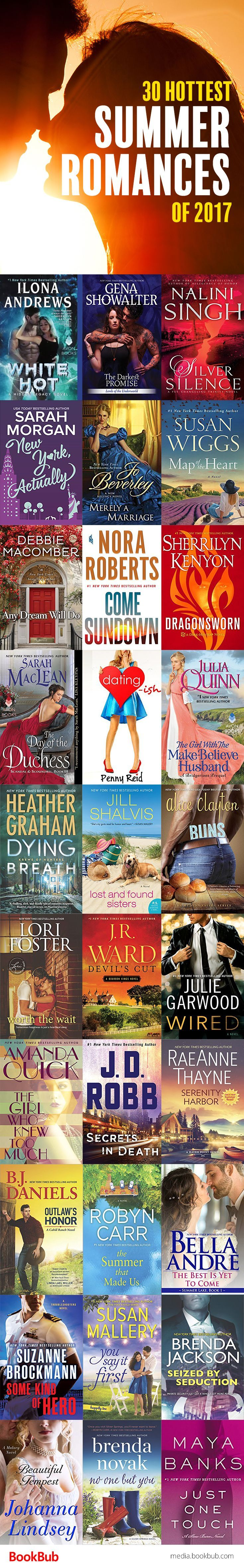 The hottest romance books of the summer, including steamy contemporary romances worth reading.