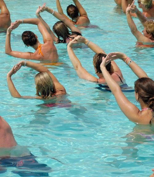 120 Best Swim Spa Water Exercise Images On Pinterest Water Workouts Exercises And Pool Exercises