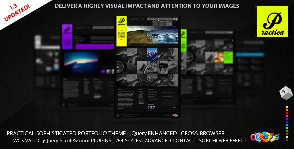 Practica - Sophisticated Theme Portfolio Creative Template. Live Preview & Download: http://themeforest.net/item/practica-portfolio-sophisticated-theme/143534?s_rank=720&ref=yinkira