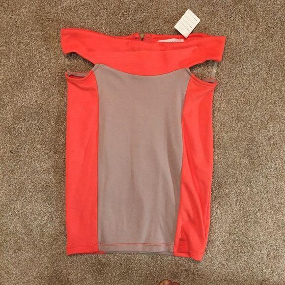 Lush Clothing Color Block Skirt NWT Lush Clothing Color Block Skirt size Small. Lush Skirts Mini