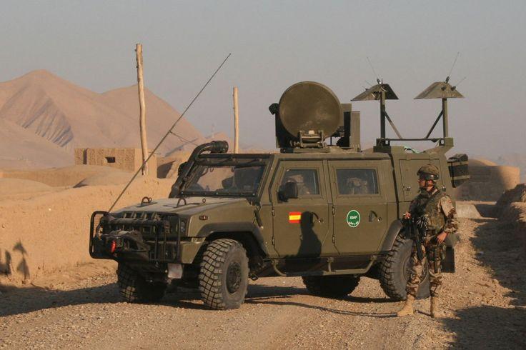 IVECO LMV 'Lince' Spanish forces, ISAF, Afghanistan | Foto: www.defensa.gob.es