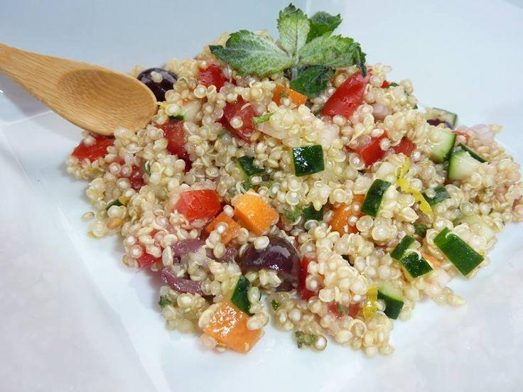 Quinoa con Verdure.....Per la ricetta consultate il mio sito oppure scrivetemi nei commenti!