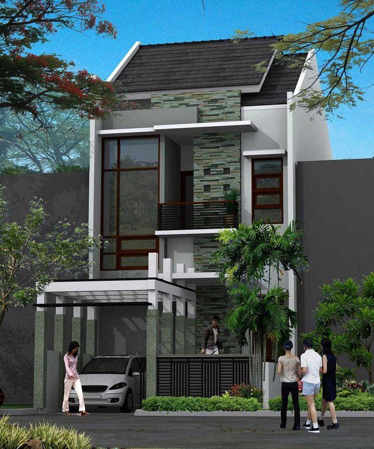 Kesan Futuristik Pada Desain Rumah Minimalis Modern - ://.rumahidealis. & 60 best desain rumah images on Pinterest | Modern contemporary homes ...