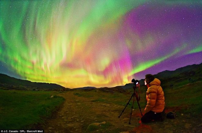 Δράκοι και πουλιά στον ουρανό του αρκτικού κύκλου -Εντυπωσιακές φωτογραφίες από το Βόρειο Σέλας [εικόνες] | iefimerida.gr