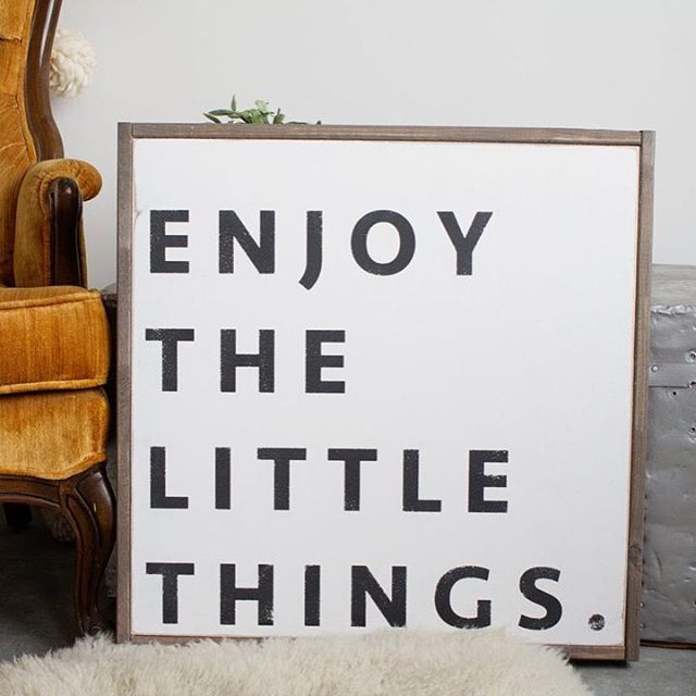 Make it your mantra. Handmade sign from Etsy seller House of Belonging.   #Regram via @etsy