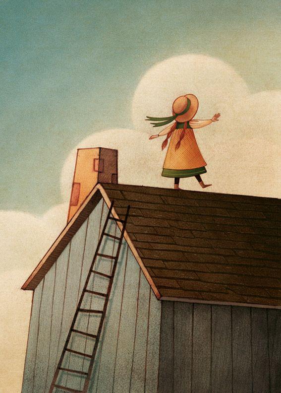 "Gaia Bordicchia, ""Anne of Green Gables"" illustration"