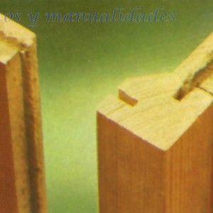 Uniones de madera 10 carpinter a pinterest madera - Materiales de carpinteria ...