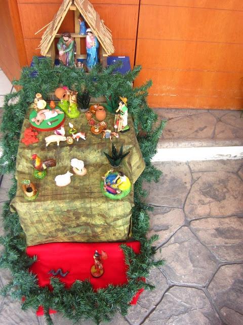 Nacimiento tradicional mexicano #Navidad