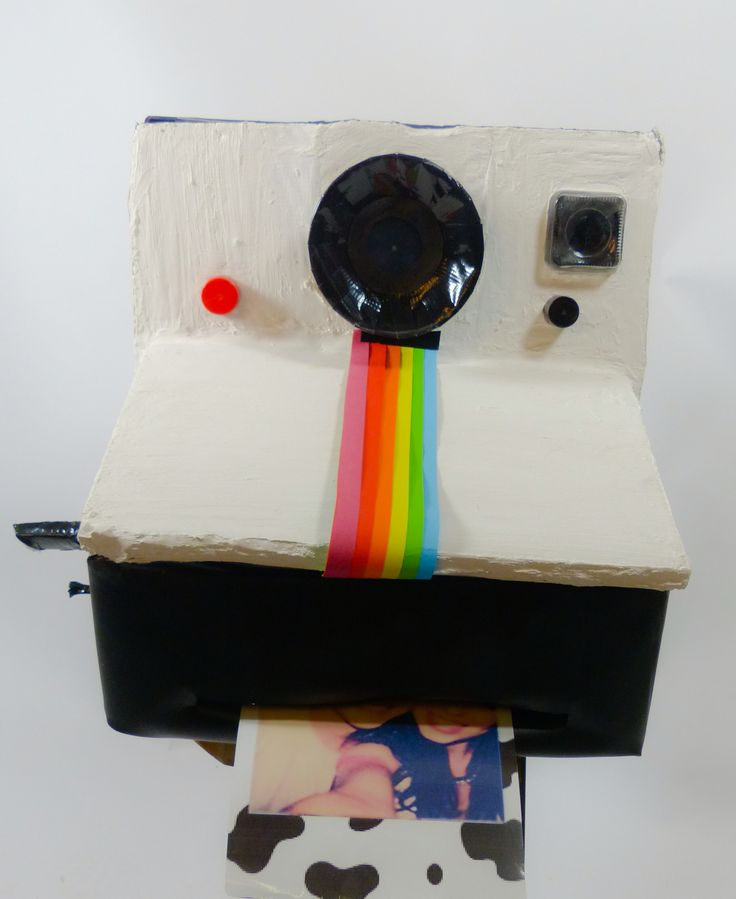Polaroid camera, - Sinterklaas surprise