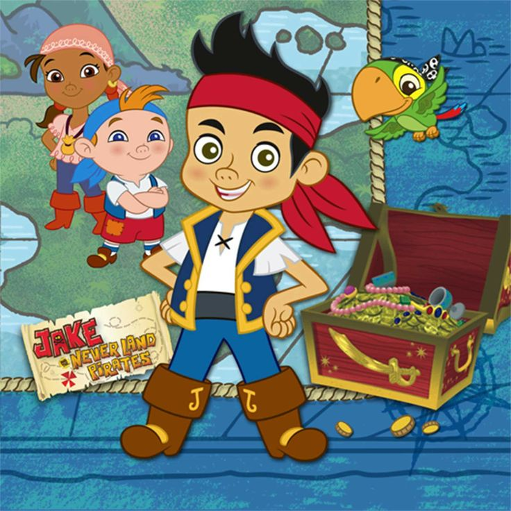 14 best Jake and the neverland pirates party ideas images on