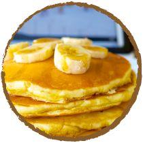 • Pancakes bananes et lait de coco par Mon Panier Sans Gluten •