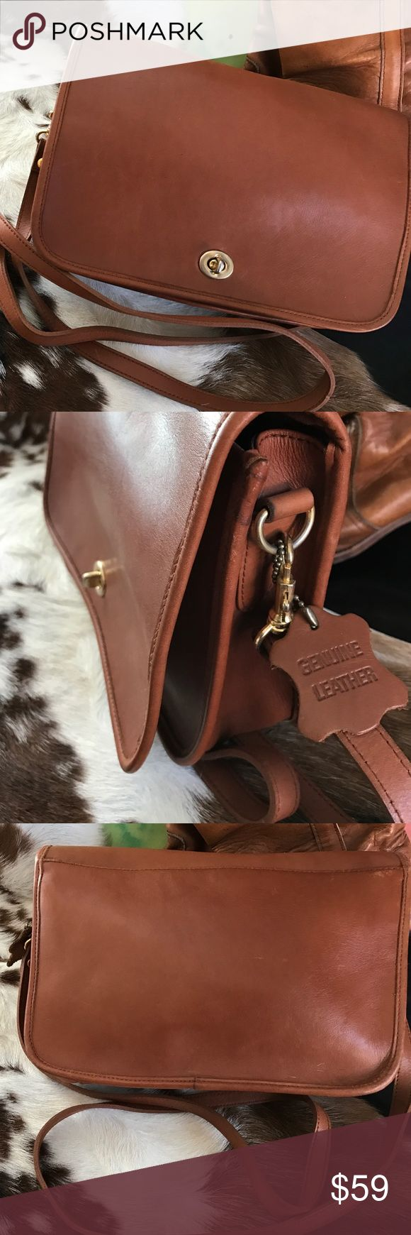 Vtg. Wilson leather (coach lookalike)purse (With images