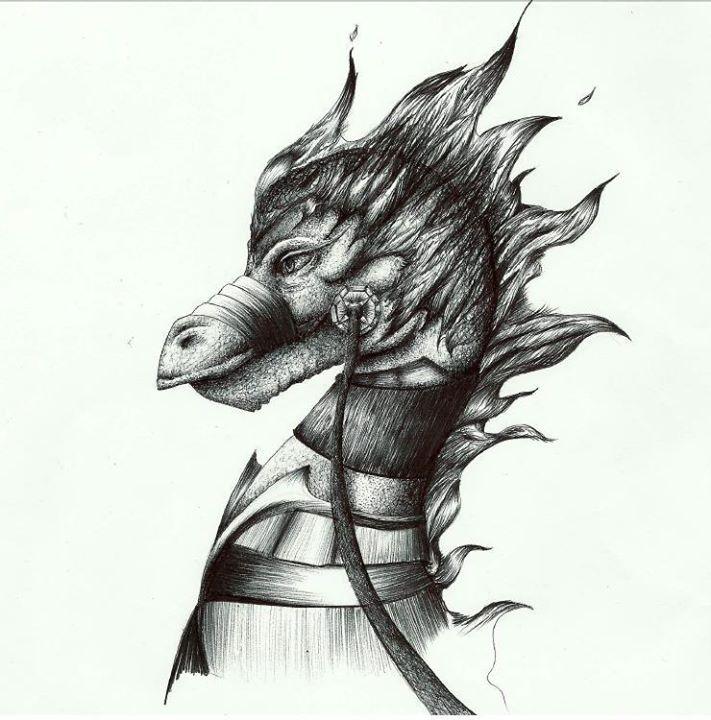 Ballpen Dragon