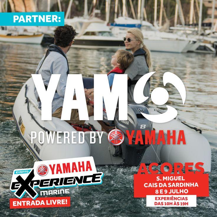 Os pneumáticos Yam permitem a experimentação a todos os níveis de experiência e todas as idades. Venha testar em Ponta Delgada, nos Açores!  #yamaha #yamahamotor #yamahamarine #mundoyamahamarine #motorforadebordayamaha #yamahaexperience #eventoyamaha #caisdasardinha #pontadelgada #ilhadesãomiguel #açores #eventogratuito #entradalivre #yam #barcoyam #yamboats #yampoweredbyyamaha #testdriveyam #yampby #pneumaticoyam