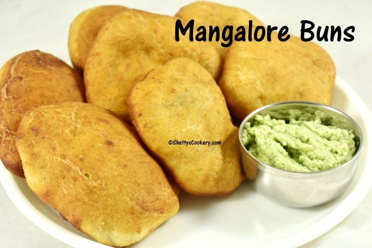 Mangalore Buns | Banana Buns recipe
