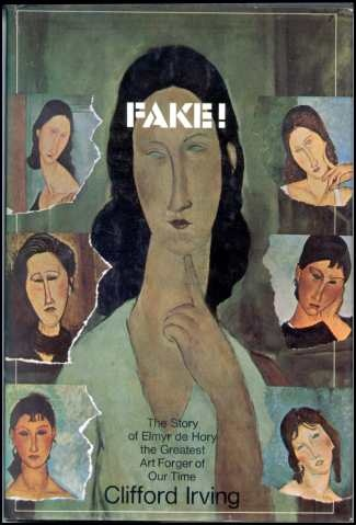 Fake! The Story of Elmyr De Hory. didn't know this book even existed. not sure i can stump up £60+ on amazon for a second hand copy though