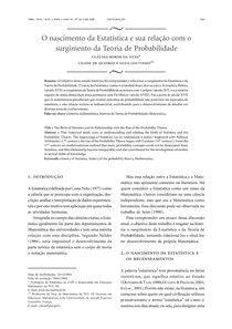 Historia da estatistica e da probabilidade - Fundamentos Da Es - 2