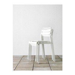 ROXÖ Stolička - biela - IKEA 19,99