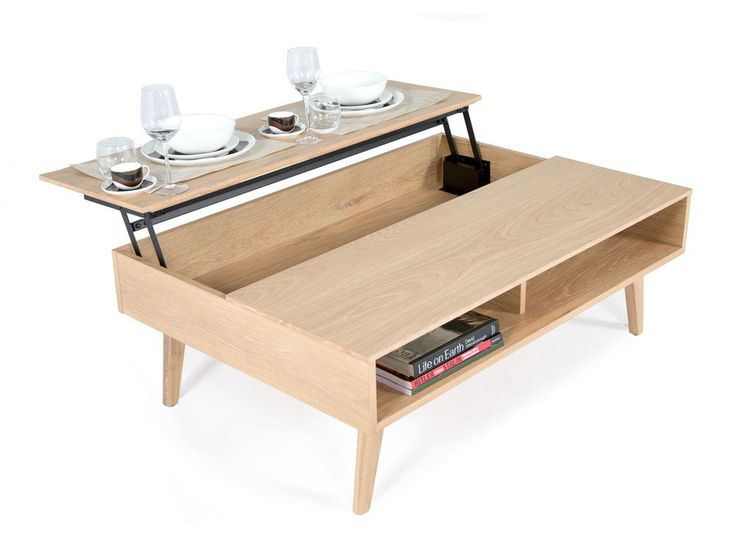 Show details for Copenhagen Elevated Coffee Table Home and