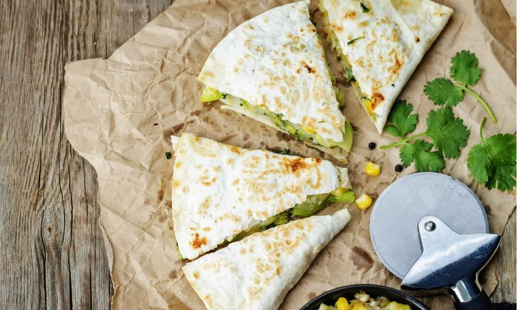 Grilled Cumin-Lime Zucchini Quesadillas