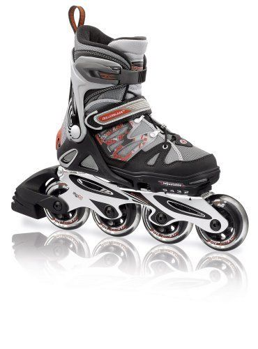 Rollerblade Jr. 2012 Spitfire Alu Kids Skate, , Adjustable US 5 to 8 by Rollerblade. $169.99. Tough Spitfire 76mm wheels with SG5 skate bearings for a smooth fast ride. The finest kids recreational skate on the market. High end performance for the high end kid. Upgraded aluminum frame is light and strong with a brake on the right skate. Adjustable boot expands 4 full sizes as feet grow. An ultra-light top of the line kids skate from Rollerblade. Upgraded wheels, fra...