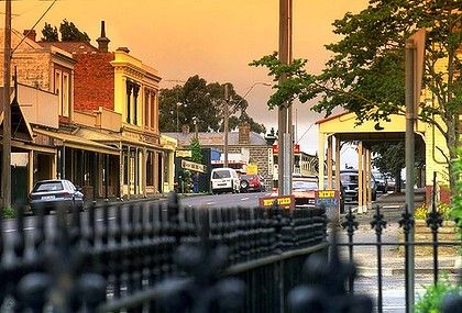 Piper Street Kyneton Victoria. A piece of me will always be here. Kyneton is a very special place.