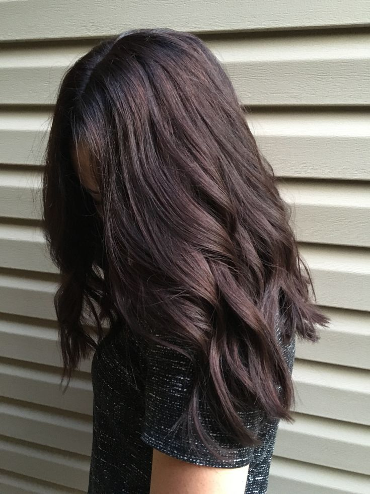Dark brown mocha hair                                                                                                                                                                                 More