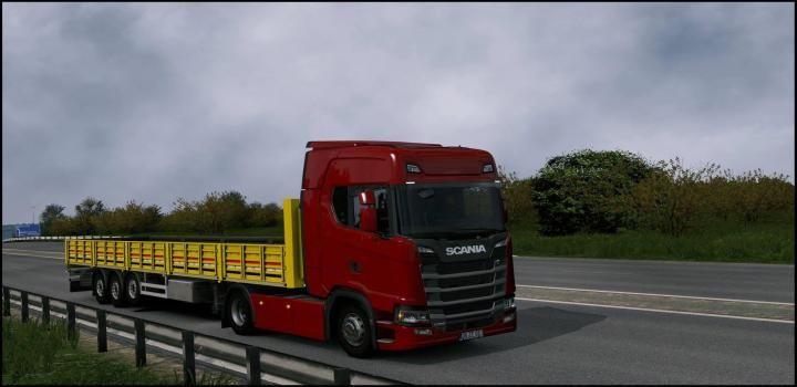 Ets2 Owned Sal Trailer Fix V1 0 1 35 X Trailer Truck And Trailer Trucks