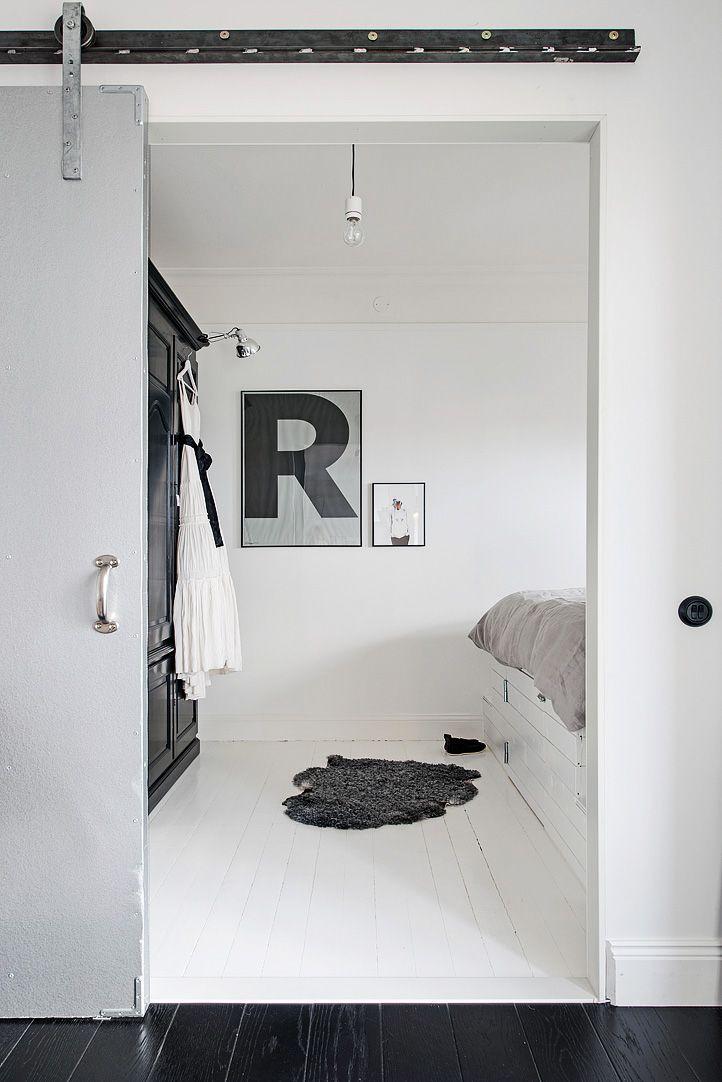 foorni.pl   Eklektycznie w Göteborgu, drzwi przesuwne na górnej szynie