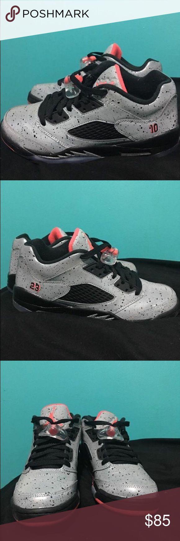 Air Jordan Neymar low 5 kids Jordan 5 rare release. Size 6Y but can fit a women's 8. Jordan Shoes Sneakers