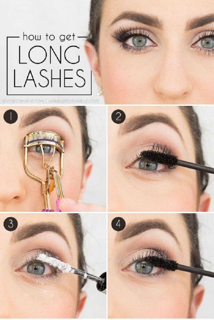 Makeup Tips—15 Ways to Make Eyelashes Longer