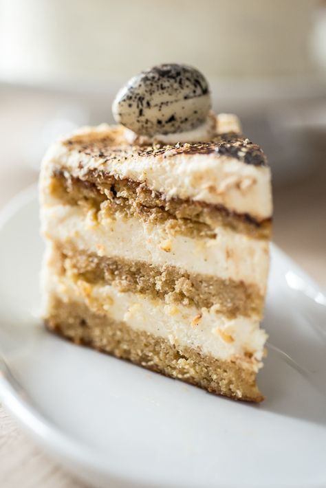 Everything i could want!! cake with white chocolate, lemon and licorice...