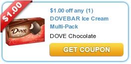 $1/1 Dove Bar Ice Cream Multi-Pack Coupon + Walmart Deal Scenario on http://www.icravefreebies.com/
