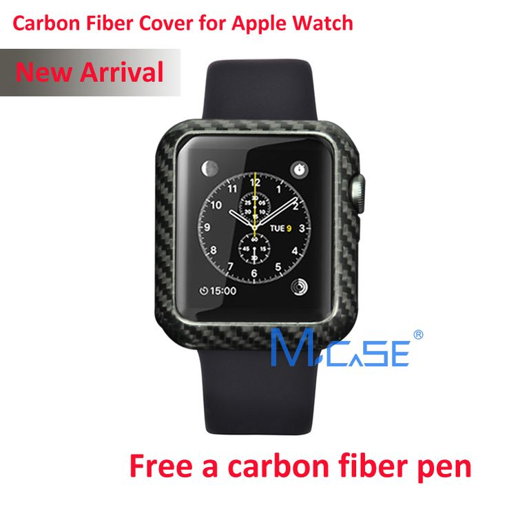 Mcase New Arrival For Apple Watch Carbon Fiber Cover Case 42mm Luxury Ultra Thin Genuine Carbon Fibre Cover For i Watch // iPhone Covers Online //   Price: $ 53.72 & FREE Shipping  //   http://iphonecoversonline.com //   Whatsapp +918826444100    #iphonecoversonline #iphone6 #iphone5 #iphone4 #iphonecases #apple #iphonecase #iphonecovers #gadget #gadgets