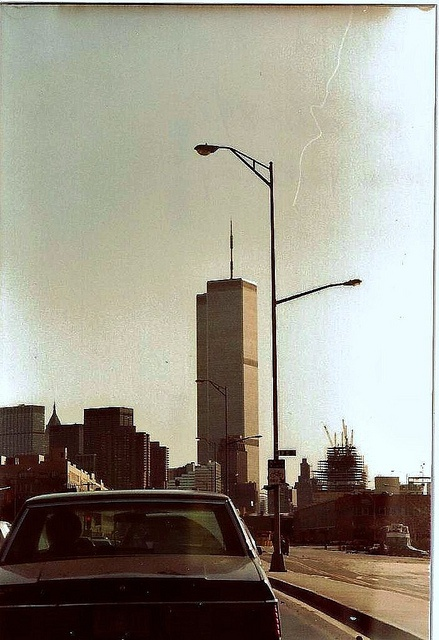 """Pinner said """"I Remember - World Trade Towers 1984: I took this picture in 1984 while staying in NY for an extended time. I was devastated on 9/11 when the Towers fell. I remember the view from the top very well."""""""